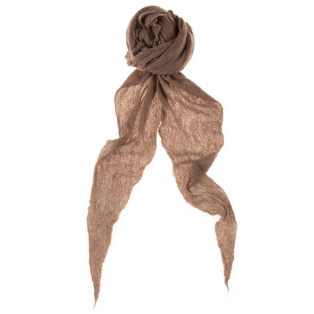Piquet Melange Diamond-Shaped Scarf