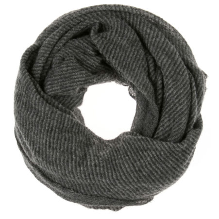 Barrè Melange Stripes Tube Scarf